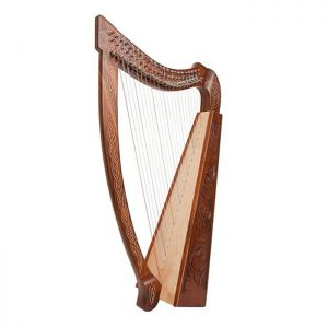 Celtic harp 19 strings by Muzikkon