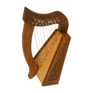 Celtic harp 8 strings, Muzikkon