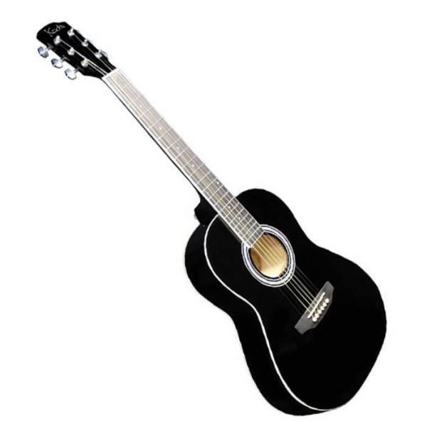 Koda Acoustic Guitar 3/4 Black